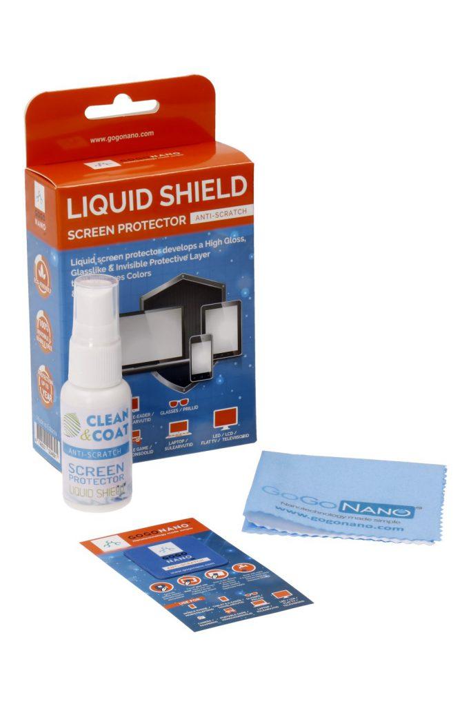 Liquid screen protector GoGoNano 25ml - GoGoNano™ универсальная жидкая защита для экрана Liquid Shield