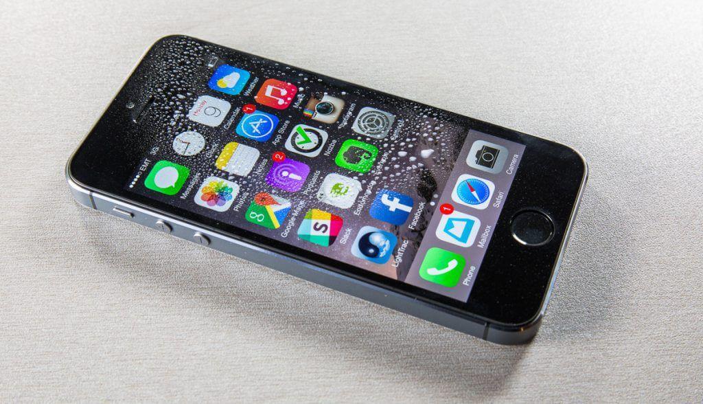 GoGoNano Liquid screen protector on iPhone
