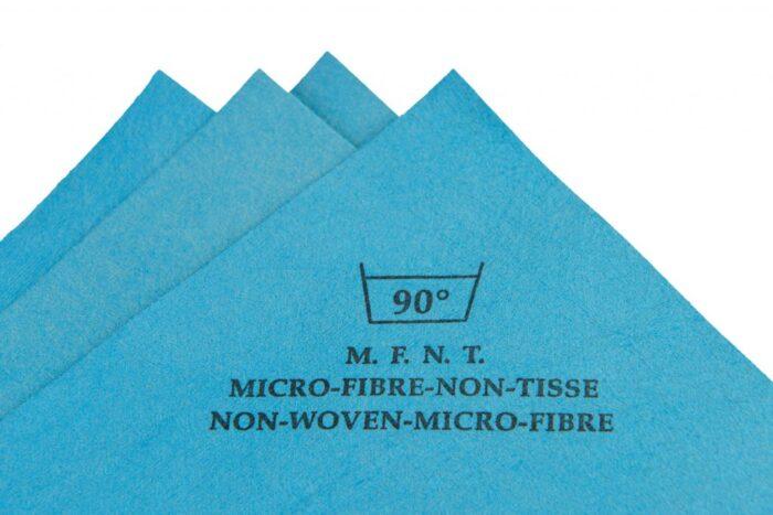Non woven microfiber application cloth 40 x 38 cm 1