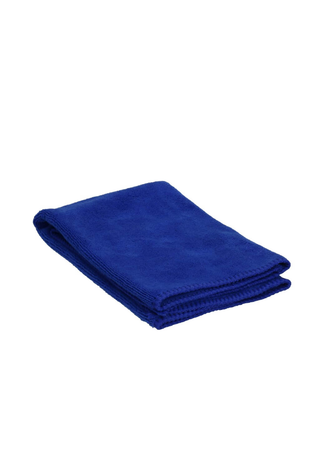 Blue very soft microfiber cloth for polishing