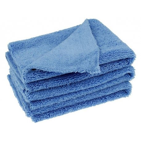 luxus laser polish microfiber cloth 5 pack - Pack of 5 Laser Polish Super Soft Microfiber Cloth 40 x 40 cm Blue