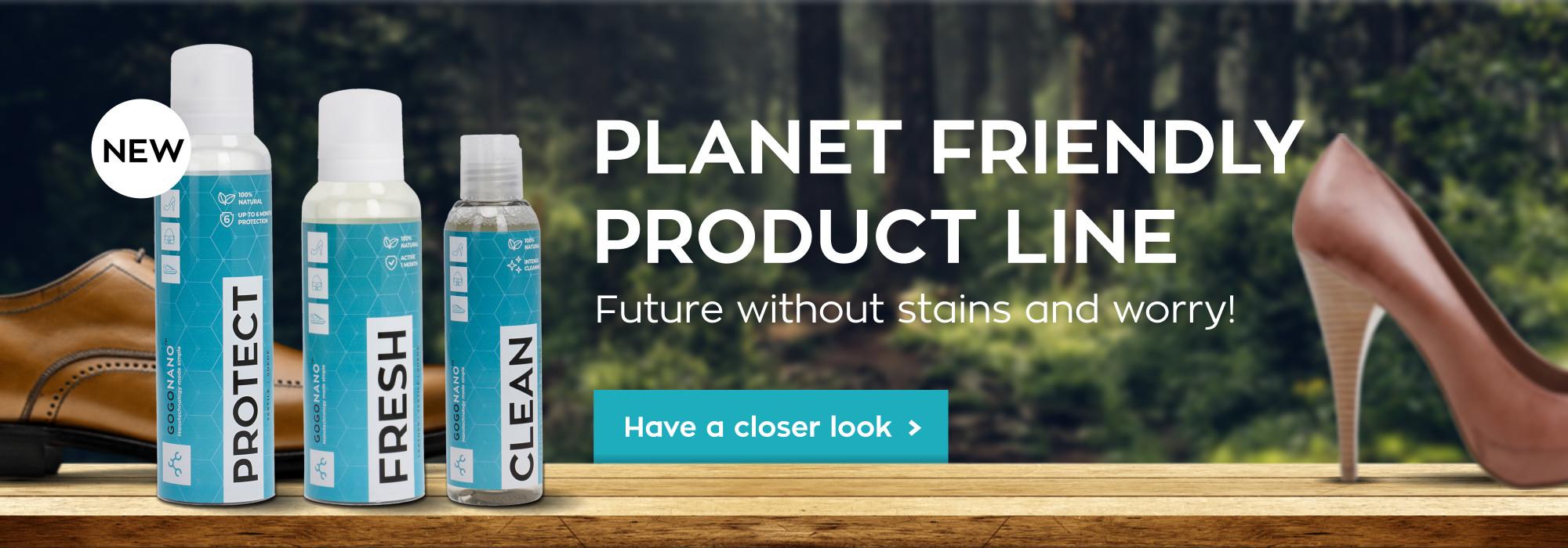 GoGoNano Planet Friendly Product Line