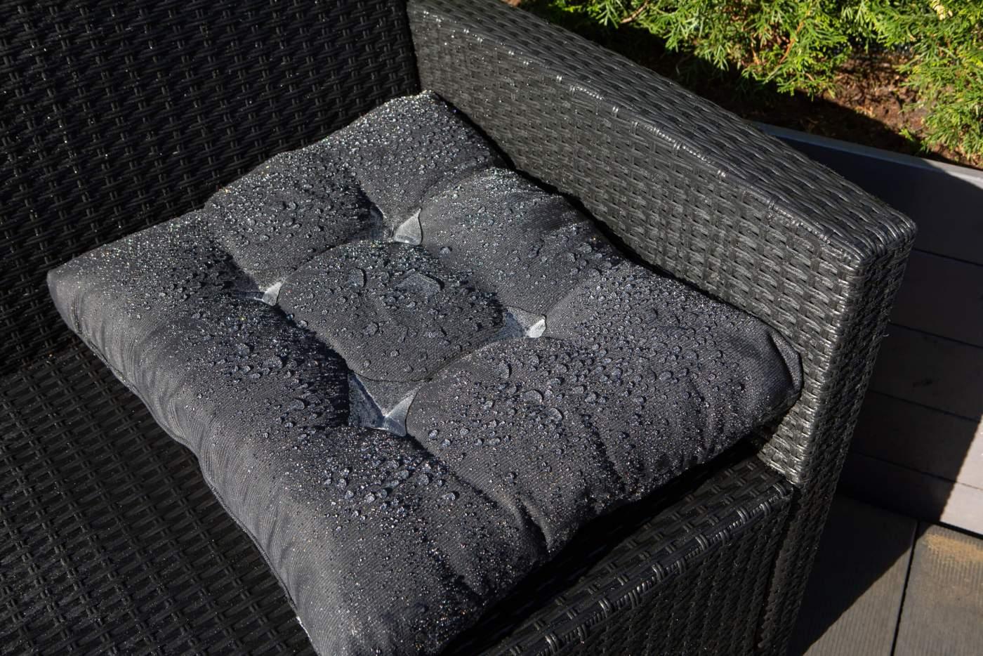 GoGoNano nano coating on garden furniture textile and leather