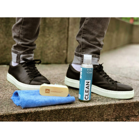 Ecological cleaner for all type of shoes and fashion gogonano