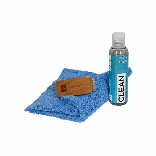 GoGonano cleaner kit with natural pig hair shoebrush