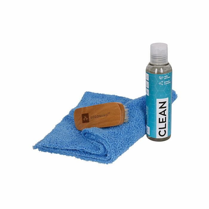 Loodussõbralik puhastuskomplekt riietele ja jalanõudele