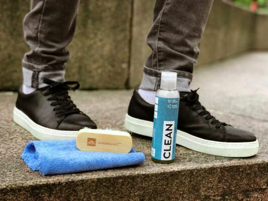 Naturaalne jalanõude ja riiete puhastamine ning hooldus GoGoNano Clean