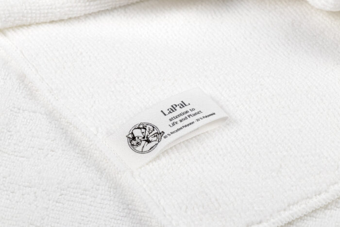 Lapal recycled microfiber cloth labeled gogonano