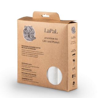 Recycled microfiber cloth cardboard box sustainable