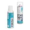 Vetthülgav sprei Stay Dry ja värskendaja Fresh