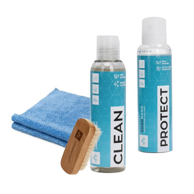 Jalatsikaitse komplekt koos Clean puhastusvahendiga